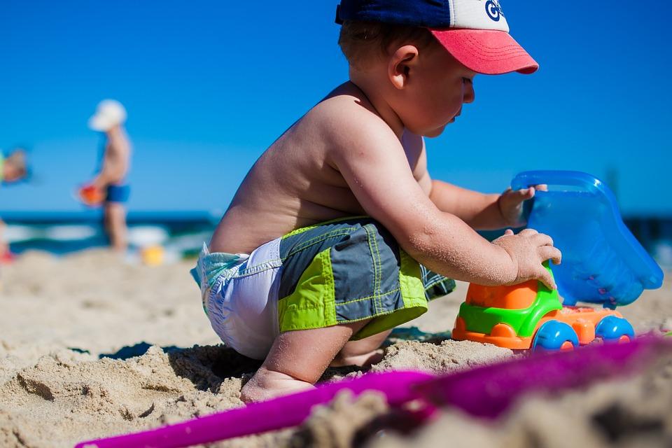 vacances avec enfant